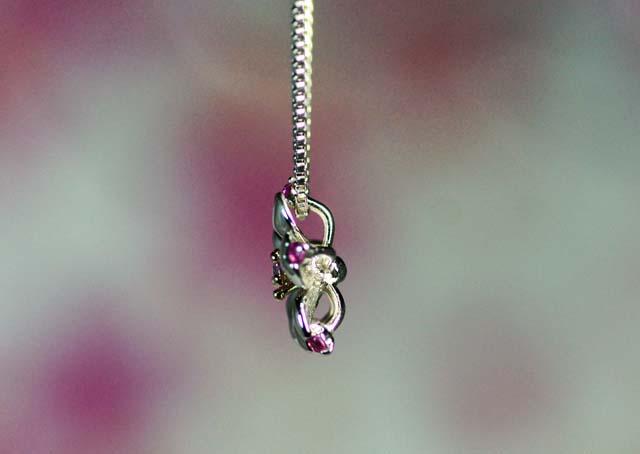 画像3: わに塚の桜 ペンダント チェリーポップ ピンクサファイヤ