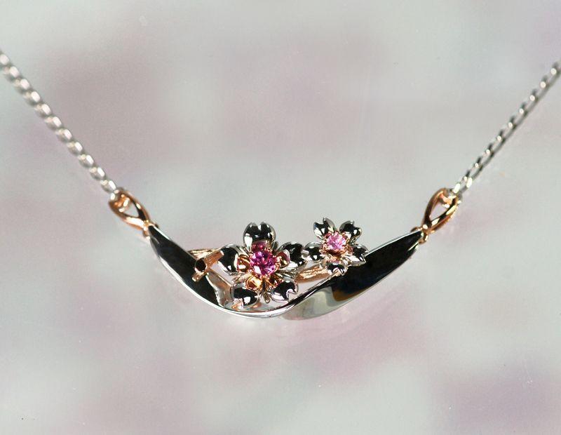 画像4: わに塚の桜 ネックレス チェリー&ブリーズ